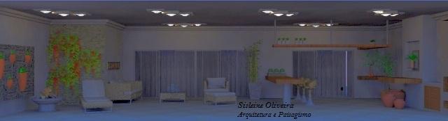 A iluminação foi o ponto mais empregado neste projeto, já que seu posicionamento não estava adequado a uma insolação perfeita.